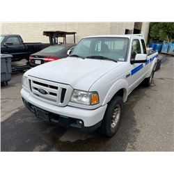 2007 FORD RANGER 4DR EXT PU VIN 1FTYR44U47PA89098