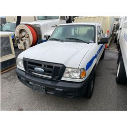 2008 FORD RANGER 2DR EXT PU VIN 1FTZR44U58PA50736