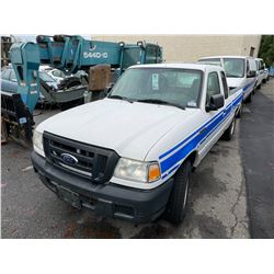 2007 FORD RANGER 2DR EXT PU VIN 1FTZR44U77PA00256