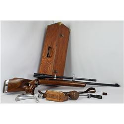 Winchester Model 52C Olympic Target Rifle w/ Scope