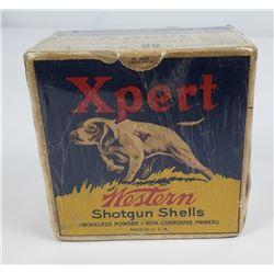 Western XPERT US Property Buckshot Shell Box