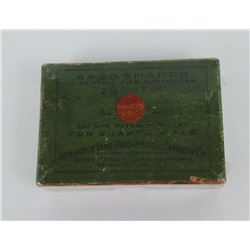 Remington Arms .44-90 Sharps Cartridges Box