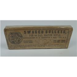 Remington Swaged Bullets 44 Cal Match Rifle Box