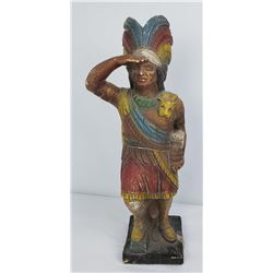 1950's Cigar Store Indian Alfco New York