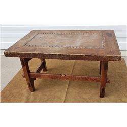 California Mission Mesquite Ranch Table Copper Top