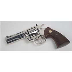 Lightly Used Colt Python Nickel Finish 4""