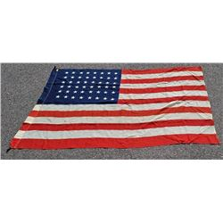 DeMouun Bros Antique American 48 Star Flag