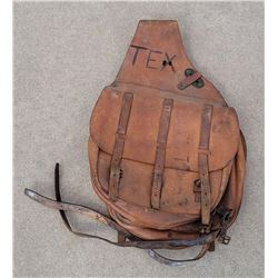 Pair of WWI WW1 US Cavalry Saddle Bags