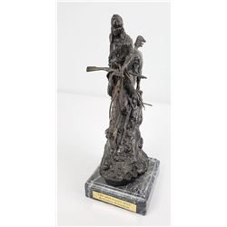 Frederic Remington The Mountain Man Bronze 13""