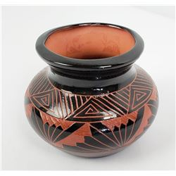 Priscilla Benally Navajo Indian Pot Vase