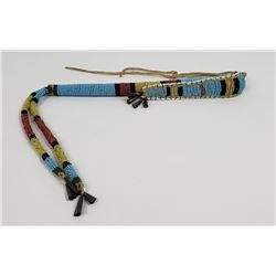 Crow Indian Montana Beaded Awl Case