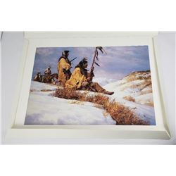 1996 Signals in the Wind Howard Terpning Print
