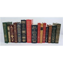 15 Leather Bound Firearms Classic Library Books