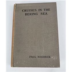 Cruises in the Bering Sea Niedieck 1909 w/ Map