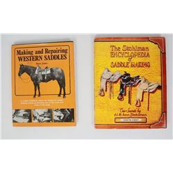 Lot of 2 Saddle Making Books