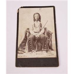 Montana Crow Indian Cabinet Photo Little Coyote