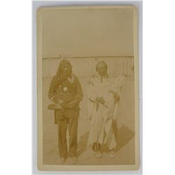 Arther Canning Helena Montana Piegan Indian Photo