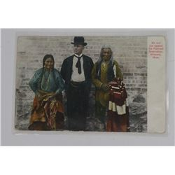 Montana Flathead Indian Reservation Post Card