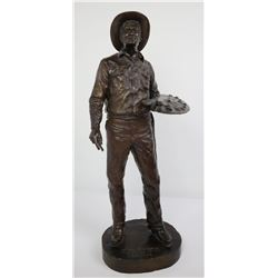Bob Scriver Montana Charlie Russell Bronze