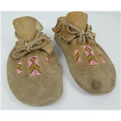 Montana Native American Indian Beaded Moccasins