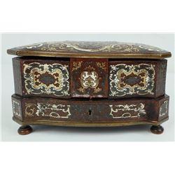 Mughal Ottoman Dynasty Miniature Chest Jewelry Box