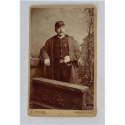 Cavalry Soldier Photo Bozeman Montana Identified
