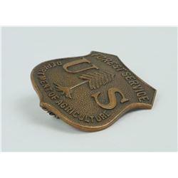 Authentic Antique US Forest Service Badge