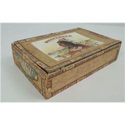 Saloon Indian Punchboard Cigar Box Gambling Game