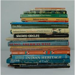 Lot of 23 Indian Native American Books Guides