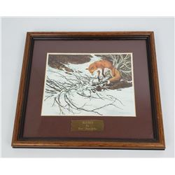 "Bev Doolittle ""Missed"" Fox Print"