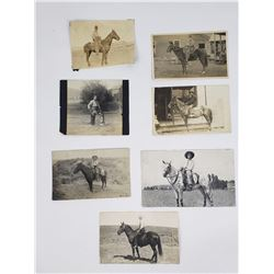 Lot of Montana Western Cowboy Photographs