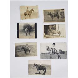 Lot of Montana Western Cowboy Photographs