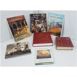 Lot of Art Books Davenports Barocci Old Masters