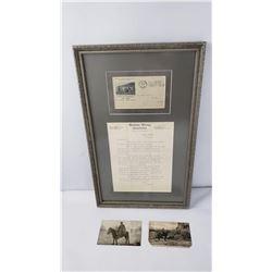 Frank B. Linderman Glacier Park Montana Letter