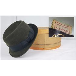 Historic Stetson Hat Tailored in Alcatraz Prison