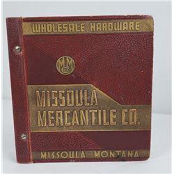 1938 Missoula Montana Mercantile Catalog