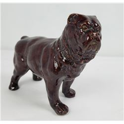 Red Wing Stoneware Pottery Bull Dog Figurine