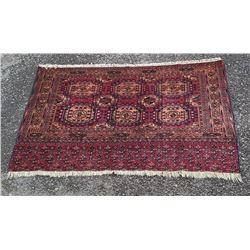 Extremely Fine Tekke Juval Persian Rug