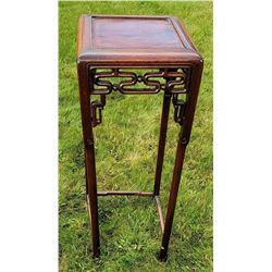Antique Chinese Hongmu Tall Table