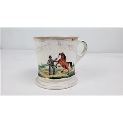 Race Horse Trainer Occupational Shaving Mug