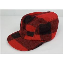 Filson Red Mackinaw Wool Hunting Hat