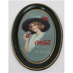 Very Nice Original 1913 Coca Cola Tip Tray