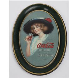 Very Nice Original 1913 Coca Cola Tip Tray
