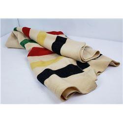 Very Nice Hudson Bay Wool Blanket