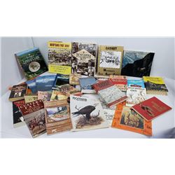 Lot of Montana Cowboy Indian History Books