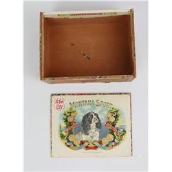 Montana Sport Cigar Box