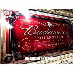 145cm Budweiser Millennium America Pub Mirror