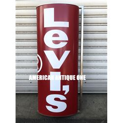 80cm Levi's signboard iron