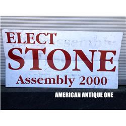 244cm Elect Stone wooden sign