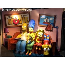 July 27, 2007 Movie Simpsons / Idea Planet 4-piece set Life-Size Figure